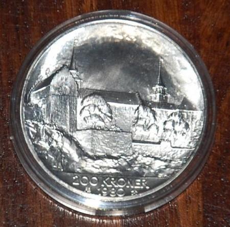 Norske minnemynter i sølv