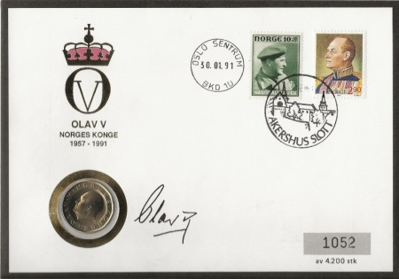 Myntbrev utgitt av Samlerhuset